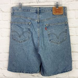 Levi's 550 Vintage Relaxed Fit HighRise Mom Shorts